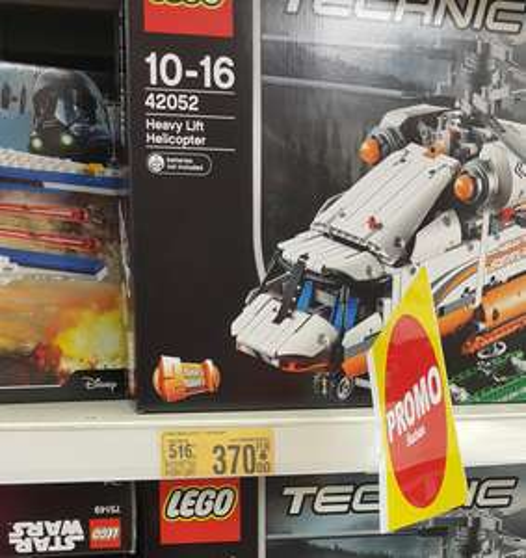 Lego technic 42052 Auchan (Warszawa)
