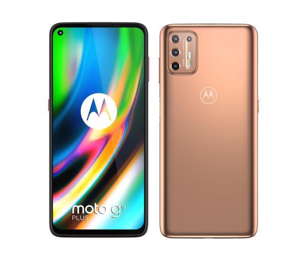 Smartfon Motorola Moto g9 plus 4/128GB (różowy)