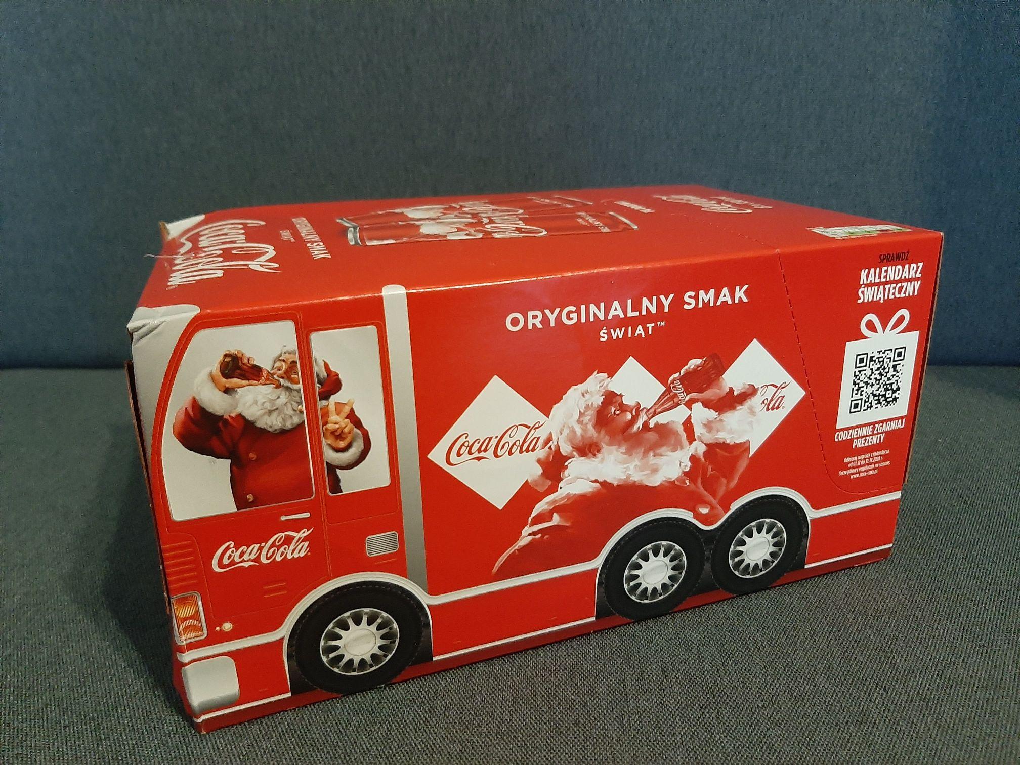 Coca - Cola 8x 0,33l / puszka za 1,19 zł LIDL
