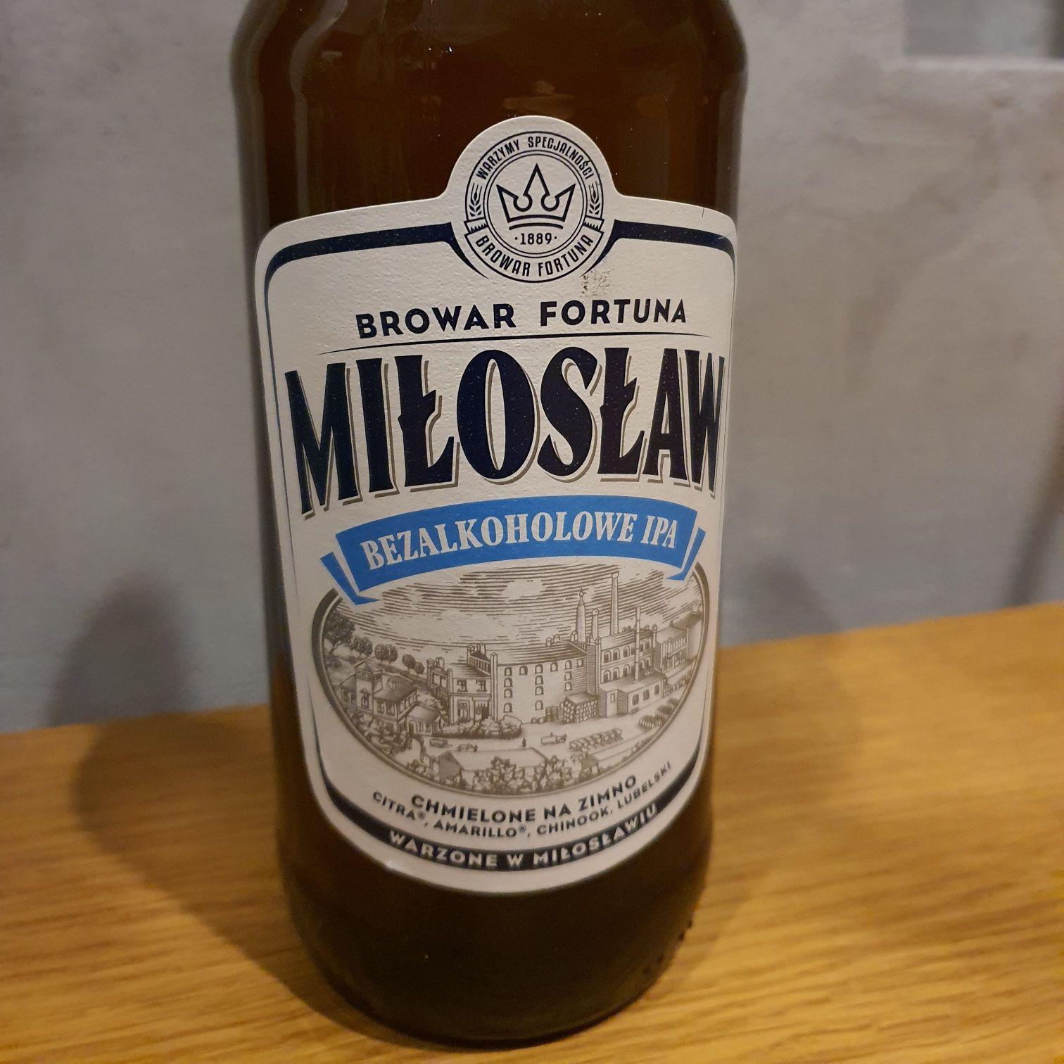 Piwo Miłosław bezalkoholowe 0.5 l butelka