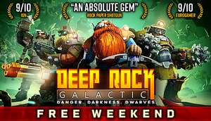 Darmowy weekend z Deep Rock Galactic, Descenders i Dying Light @ Steam