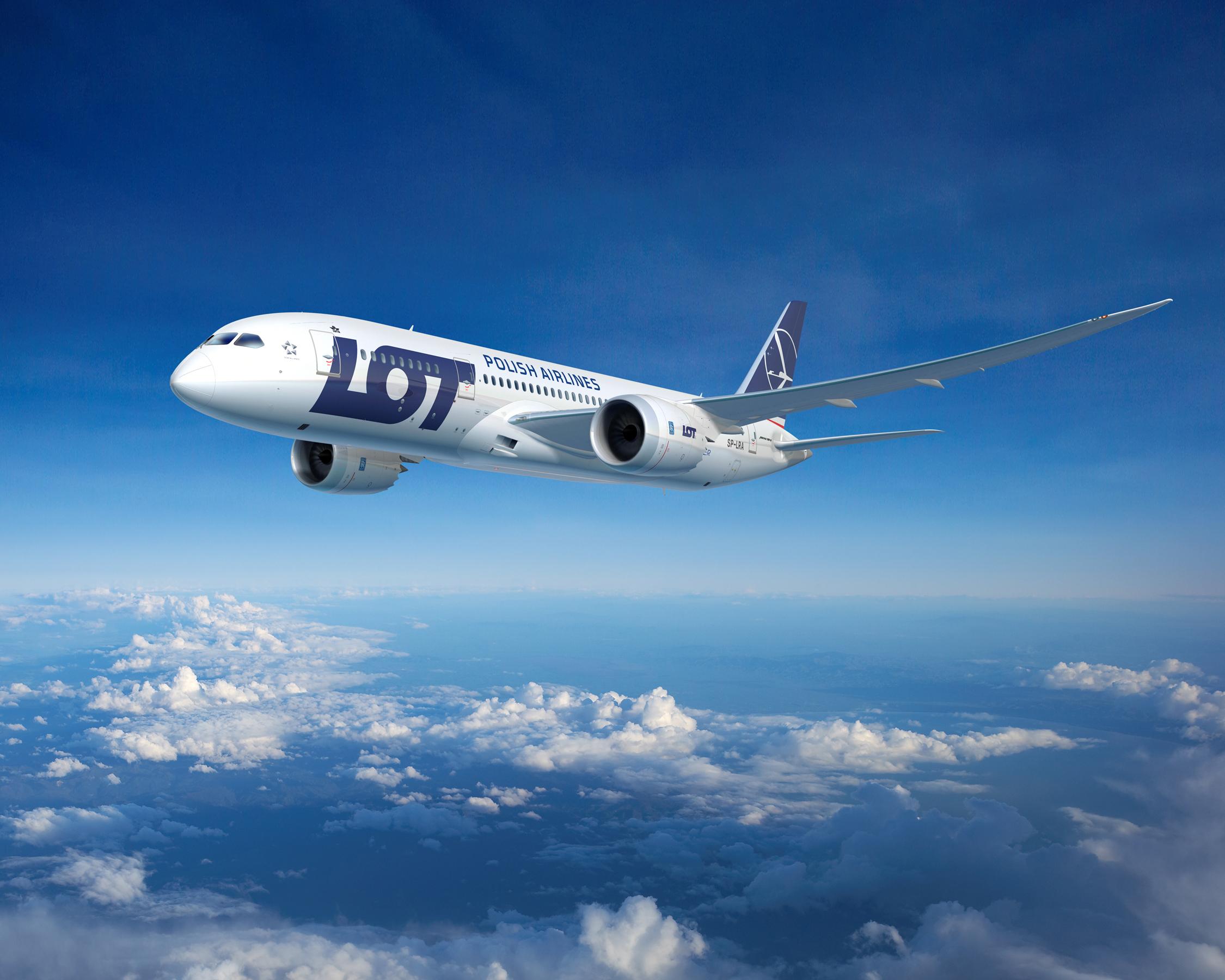 LOT samolotem Boeing 787-8 Dreamliner z Warszawy do Katowic!