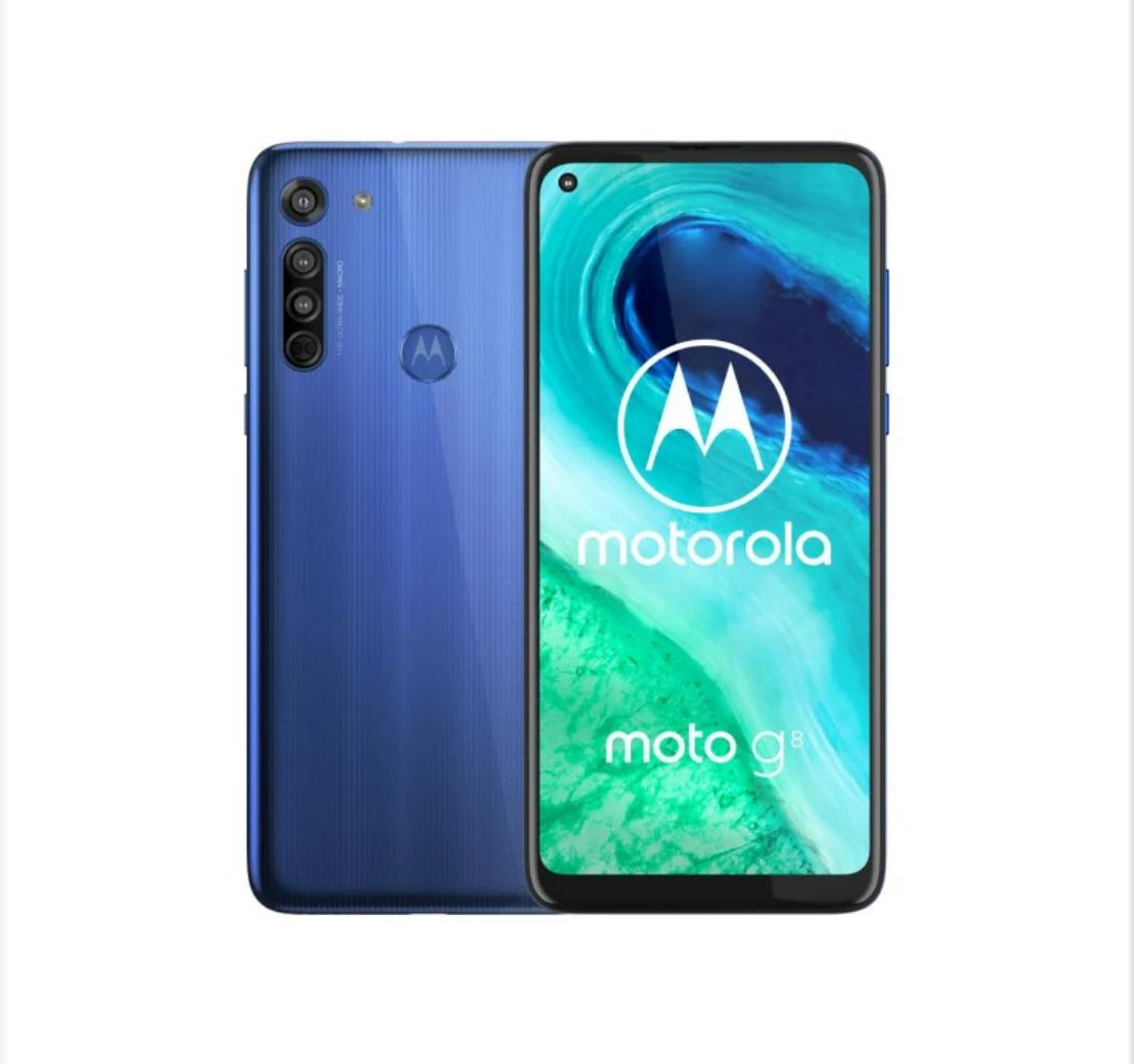 Motorola Moto G8 4/64GB Neon Blue