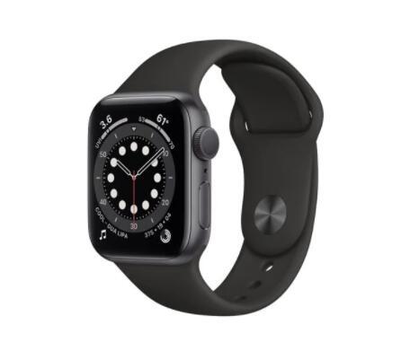 APPLE Watch Series 6 GPS Koperta 44 mm z aluminium Space Grey