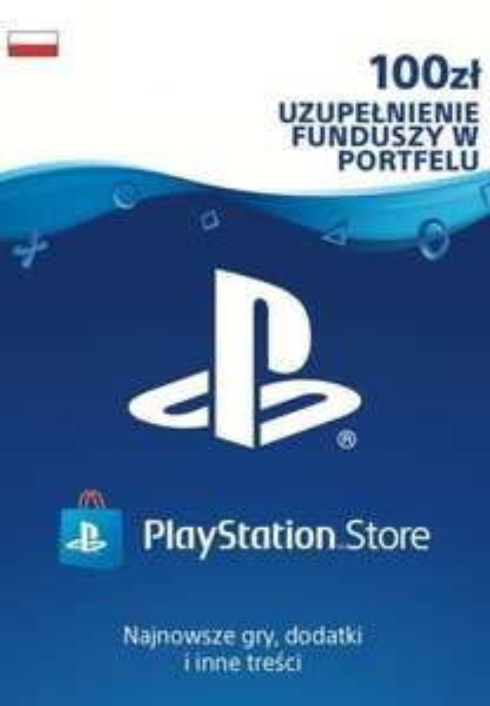 Doładowanie do PlayStation Store 100 PLN za 83,12 zł (PS4, PS5)