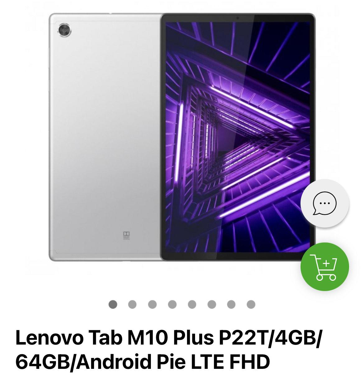 Oferta w aplikacji x-kom: Lenovo Tab M10 Plus P22T/4GB/64GB/Android Pie LTE FHD