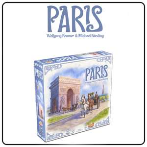 Gra euro Paris od wydawnictwa Czacha Games.