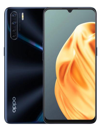 Smartfon OPPO A91 Czarny 8 GB / 128 GB / AMOLED