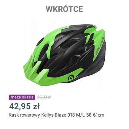 Allegro Mega Okazje Kask rowerowy Kelly's 018 M/L 58-61cm