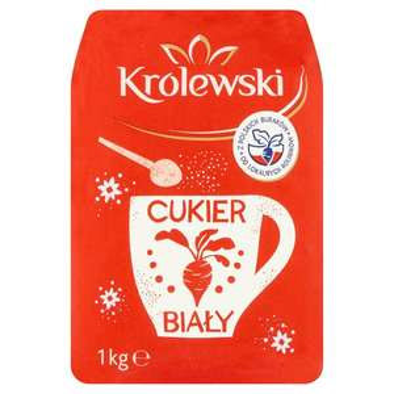 Cukier biały 1,75 zł/kg! Stokrotka online, MWZ 40 zł, pakowanie 1,99.
