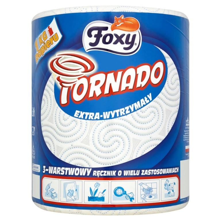 Ręcznik papierowy Foxy Tornado 3-warstwy 1kg. Stokrotka online