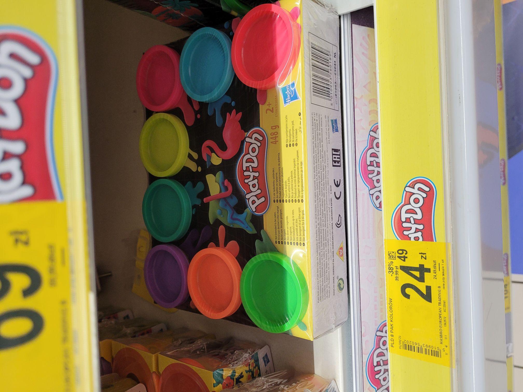 Ciastoliny Play Doh minimum 30% taniej Carrefour (Kraków Czyżyny)