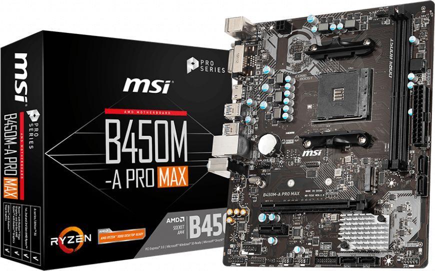 Płyta główna MSI B450M-A PRO MAX