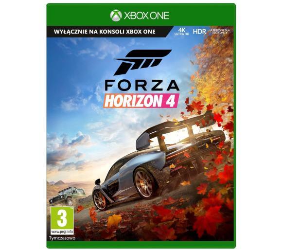 Forza Horizon 4 Xbox One / Xbox Series X pudełkowa