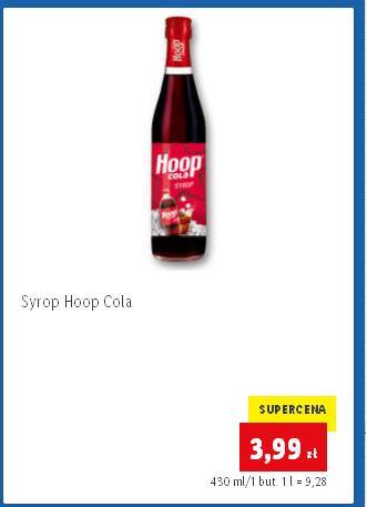 Syrop HOOP COLA 430ml. Lidl