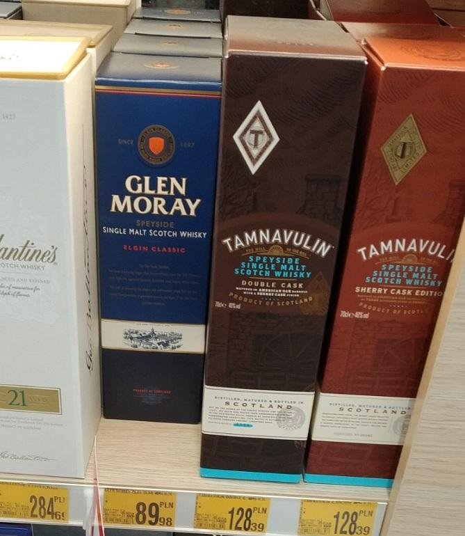 Whisky Glen Moray Classic 0,7 Auchan KROKUS