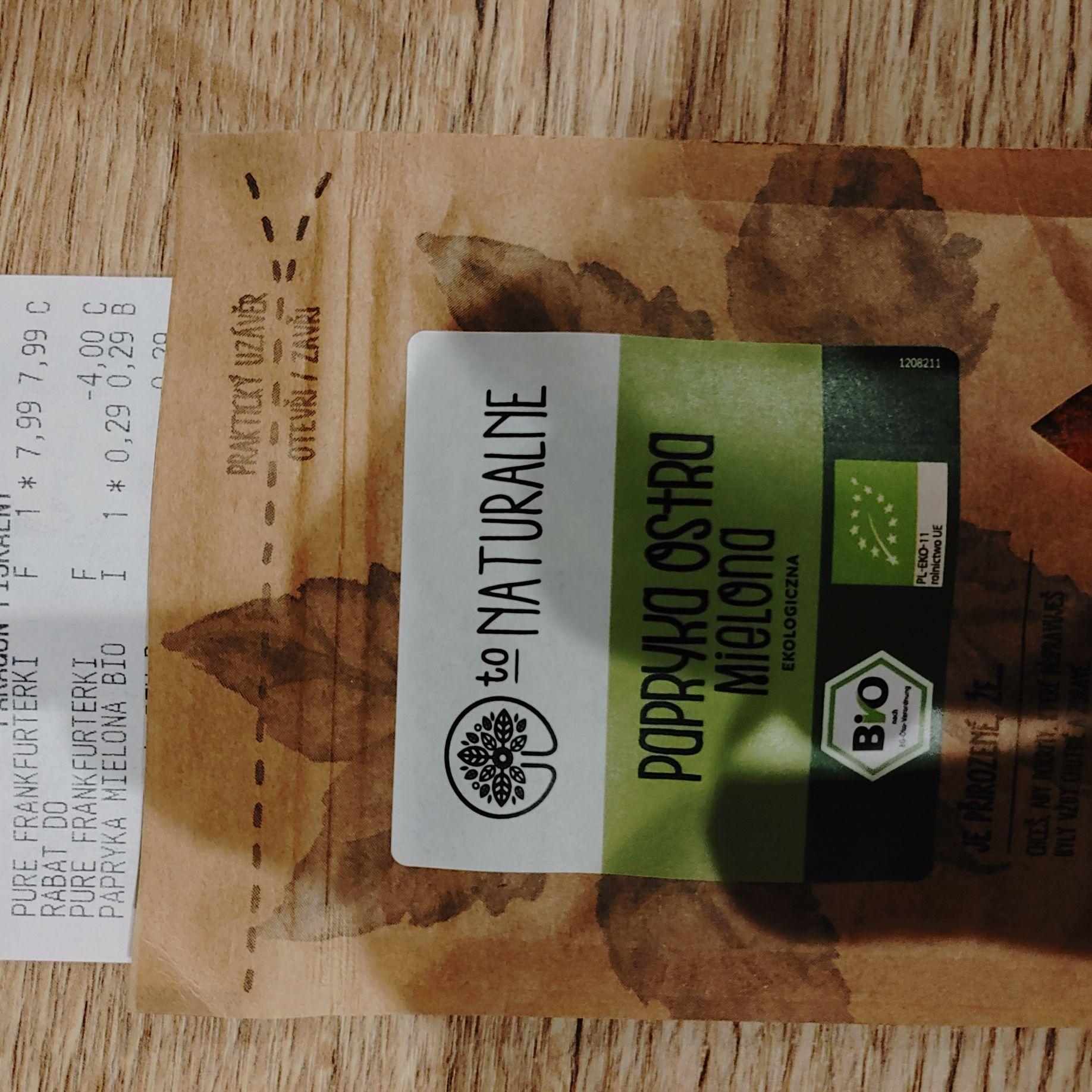 Papryka ostra mielona Bio 15 g Lidl