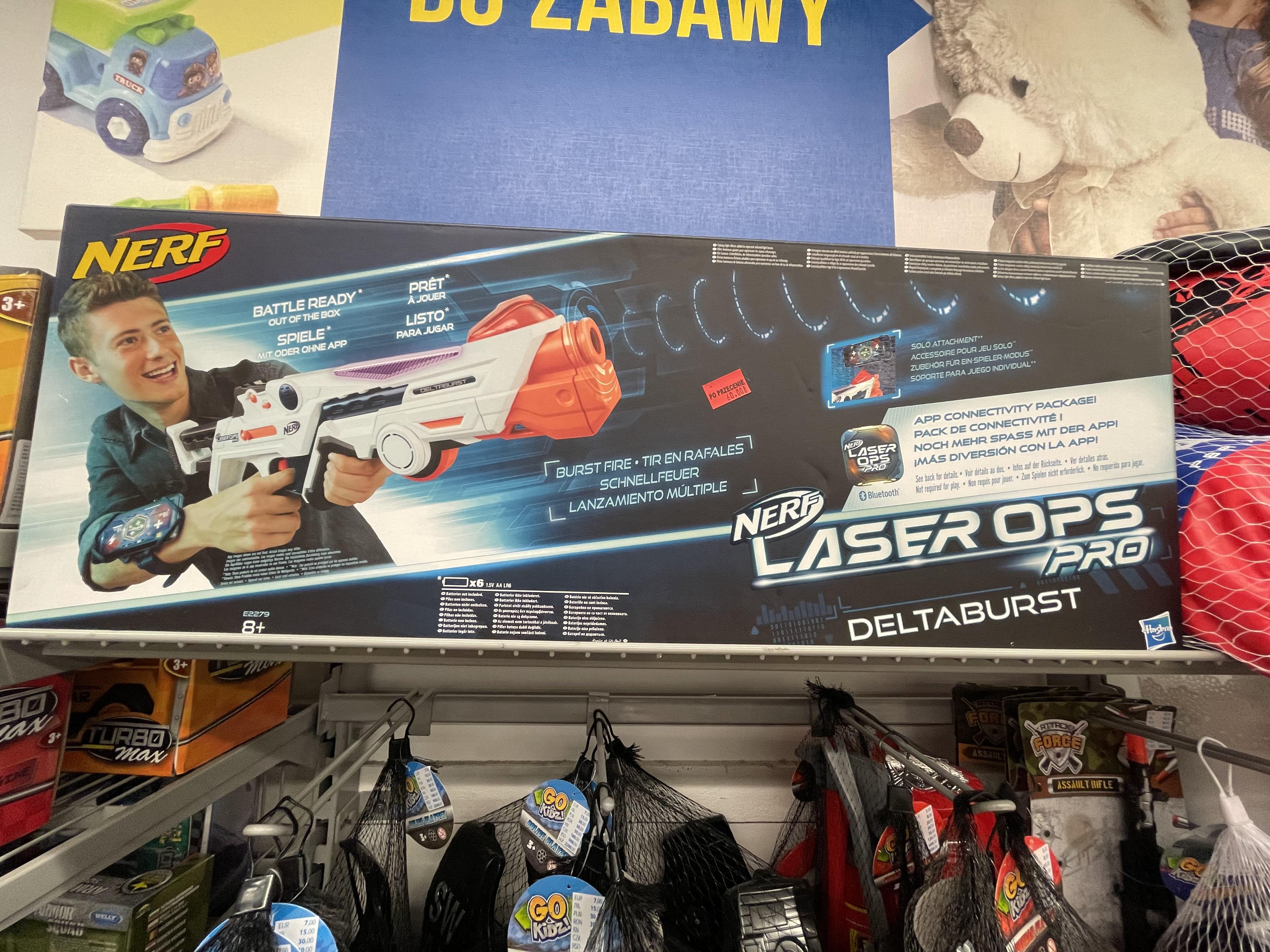 Nerf Laser Ops Pro deltaburst PEPCO