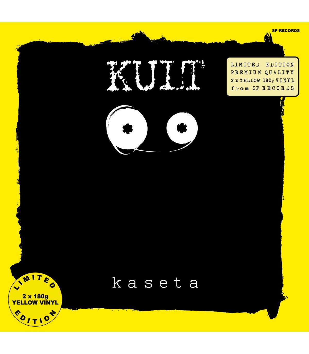 Winyl KULT - KASETA [2LP] LIMITED EDITION YELLOW VINYL 2 x 180 g (PREORDER DO DNIA : 05.03.2021) od SP RECORDS
