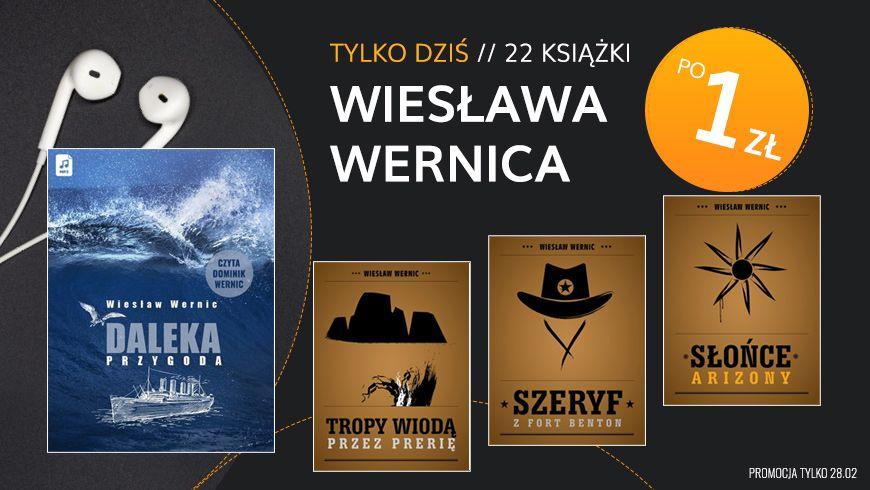 Ebooki Wiesława Wernica po złotówce