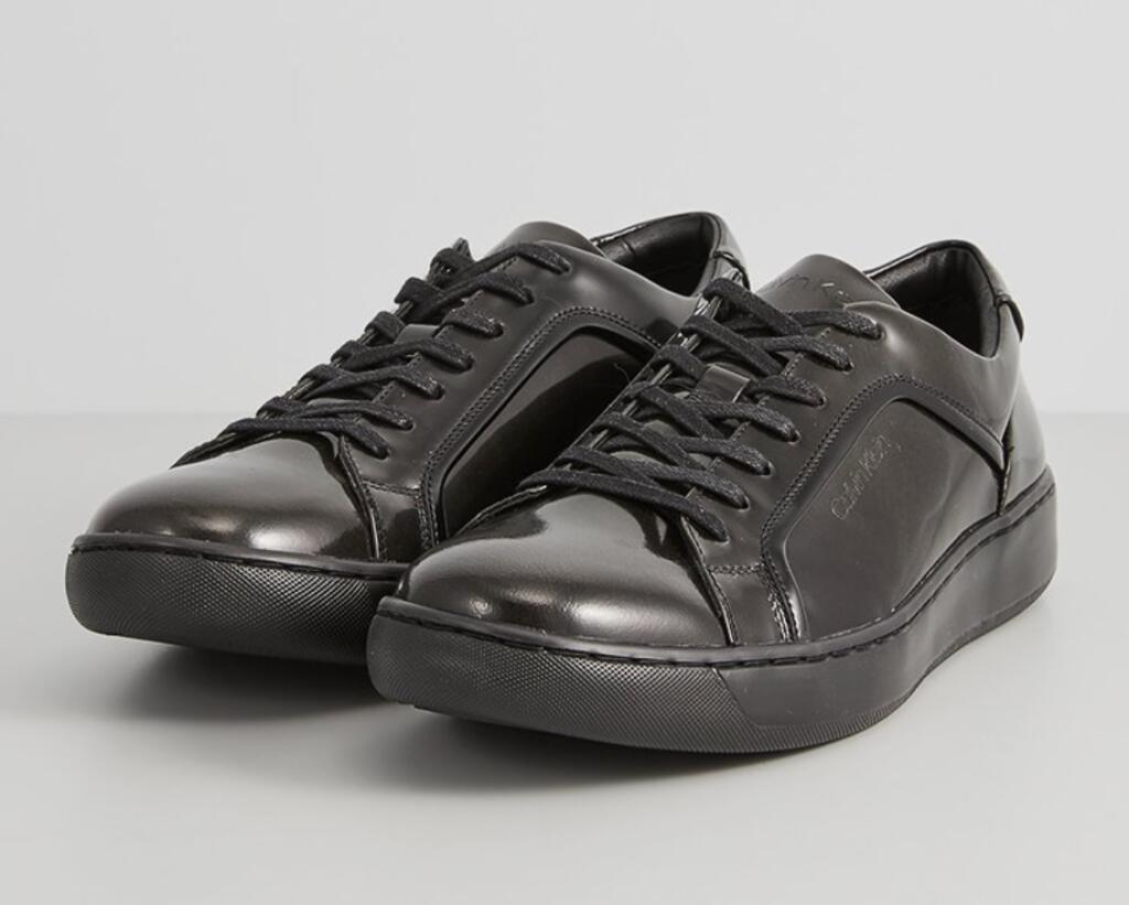 CALVIN KLEIN FORSTER - Sneakersy niskie - szary