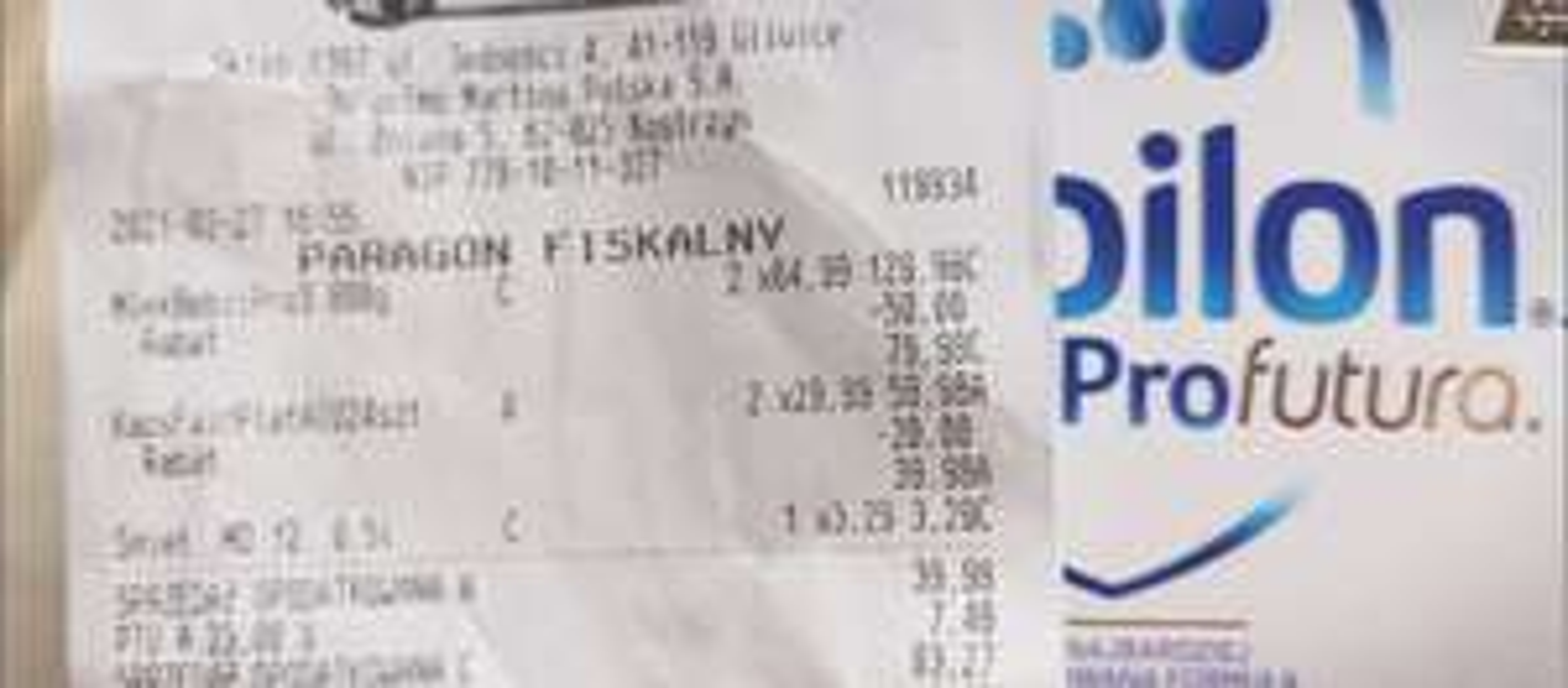 Mleko Bebilon Profutura 800g 1,2,3 w biedronce przy zakupie 2 sztuk