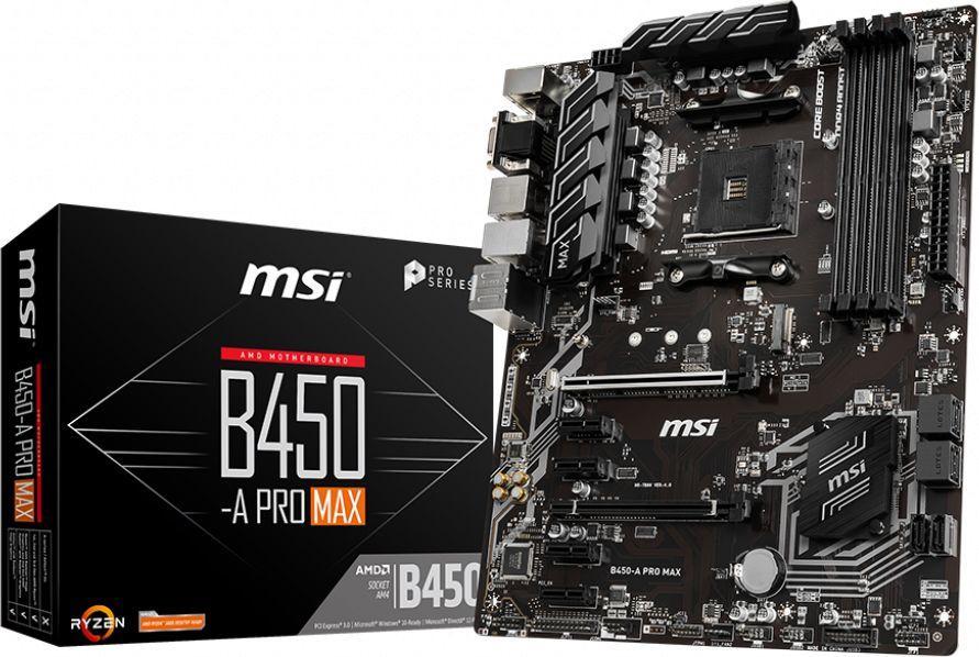 Płyta główna MSI B450-A PRO MAX