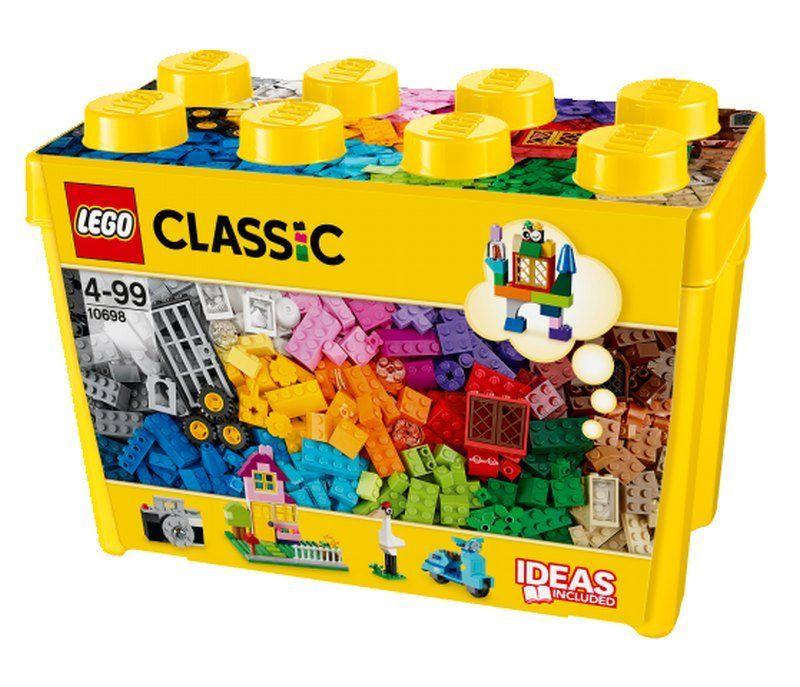 Lego 10698 Classic - 790 el. + plastikowe pudełko