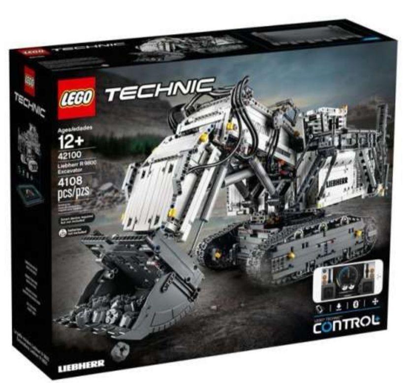 LEGO 42100 Technic - Koparka Liebherr R 9800 (305.73€)