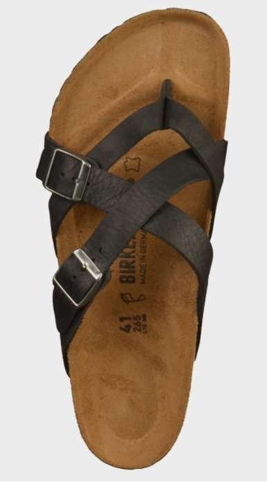 Japonki Birkenstock Temara, olejowana skóra, brąz lub czerń, r. 36 - 43 @ZalandoLounge