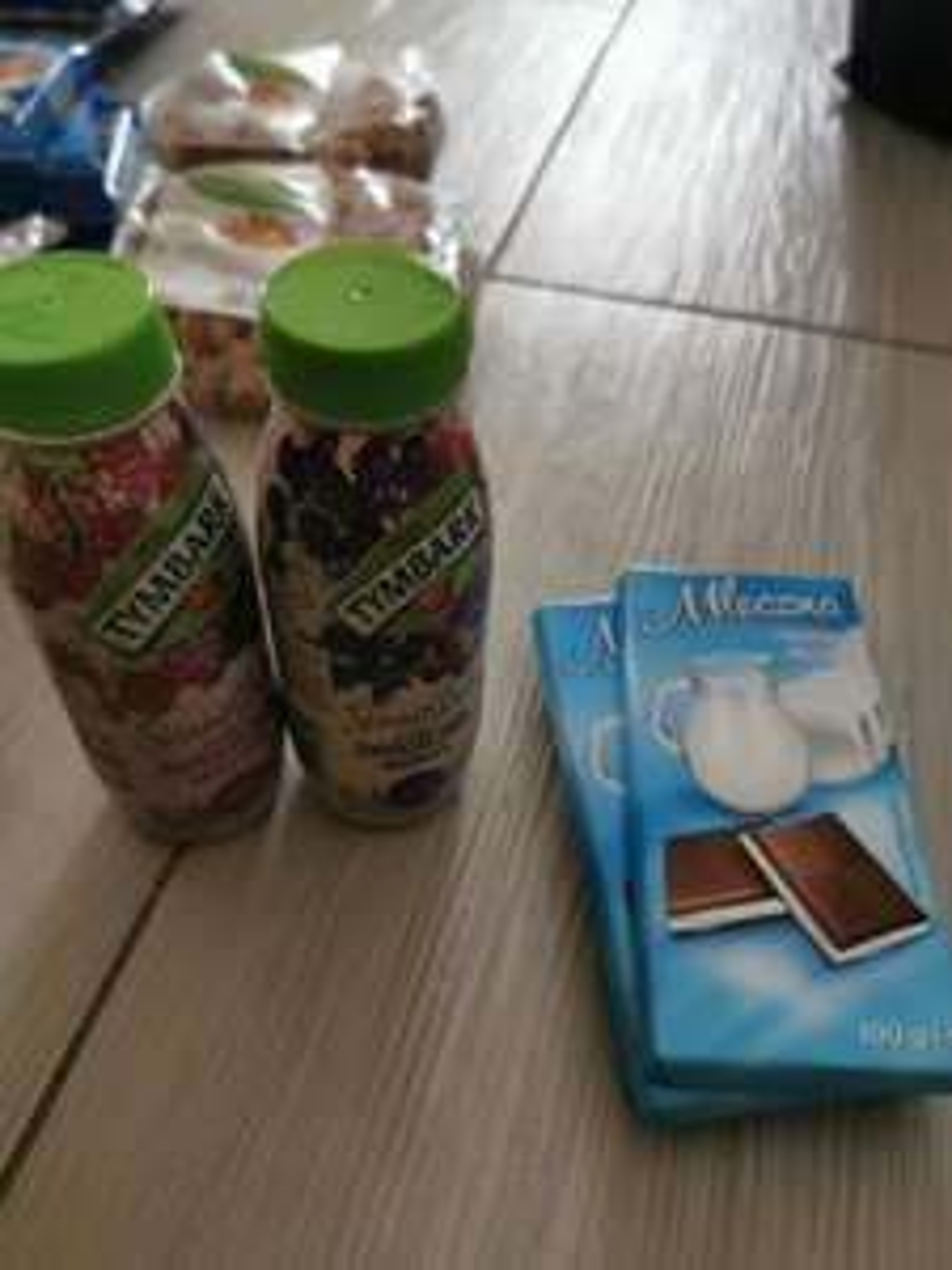 Tymbark smoothie 0.25l, czekolada mleczna 100g. Wyprzedaże Lidla cd.