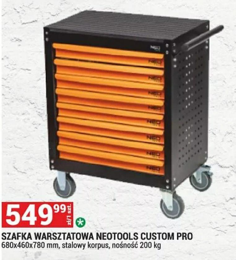 Szafka narzędziowa warsztatowa wózek Neo Tools custom pro 84-080 wersja wyposażenia G80