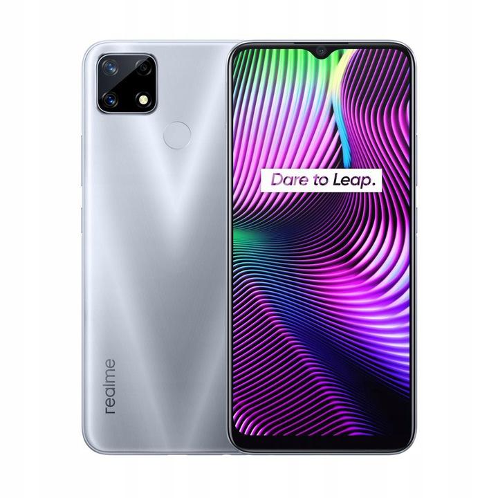 Smartfon Realme 7i, 4/64 GB, srebrny (niebieski za 549zł) i inne Realme taniej, odb.os.0zł