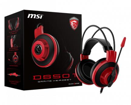 Słuchawki dla graczy MSI DS501 (headset) za 99zł (zamiast 149zł) @ ProCPU