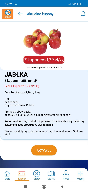 jabłka polskie e.leclerc 1.79-kg mix odmian