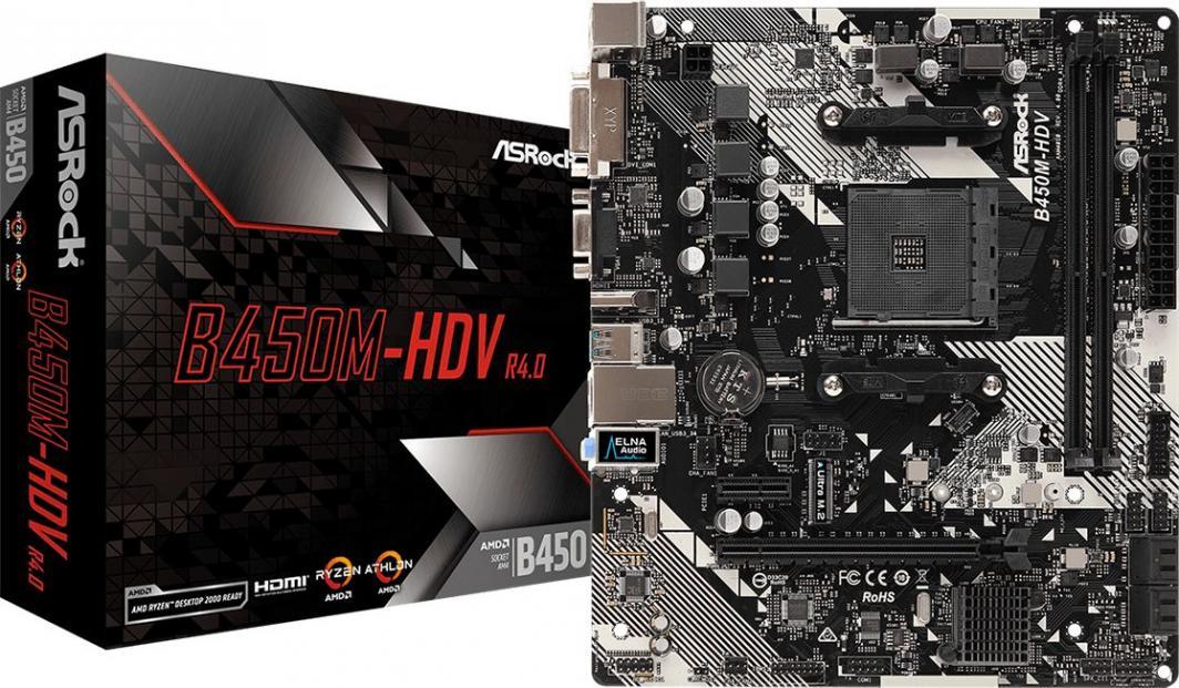 Płyta główna ASRock B450M-HDV R4.0