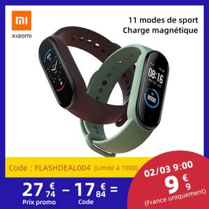 Xiaomi Mi Band 5 z Aliexpress