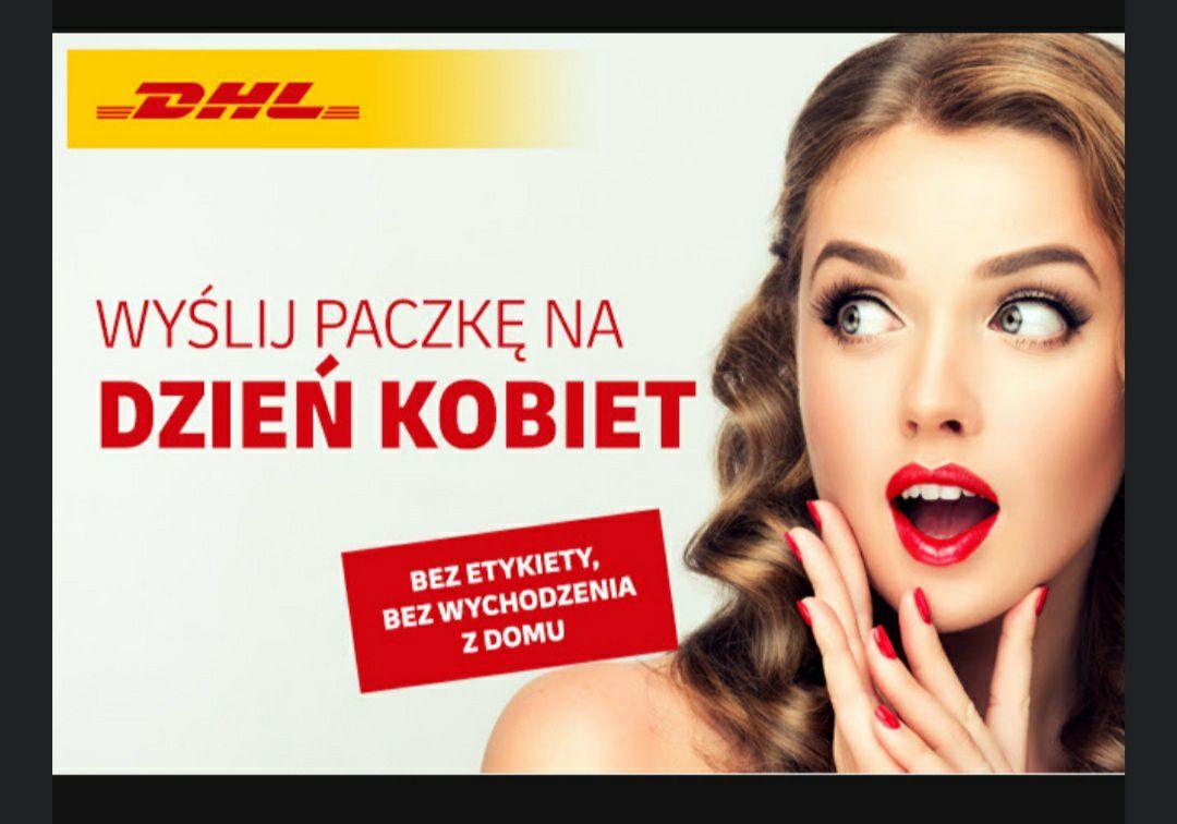 -20% na przesyłki DHL krajowe i UE bez wychodzenia z domu