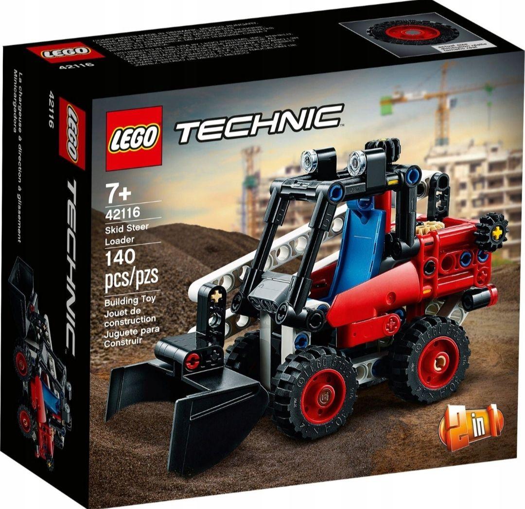 Miniładowarka LEGO 42116, 140 elementów