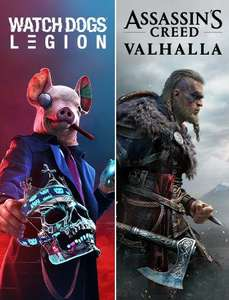 Assassin's Creed® Valhalla + Watch Dogs®: Legion (Xbox One & Series X|S) MS Store Brazylia