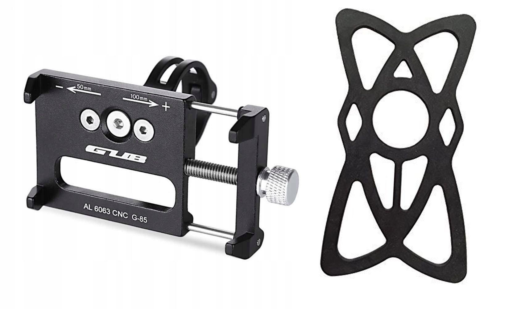 Uchwyt rowerowy na telefon GUB G-85