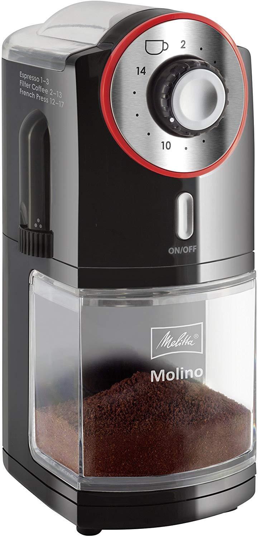 Melitta Molino 1019-01 Elektryczny Młynek do Kawy