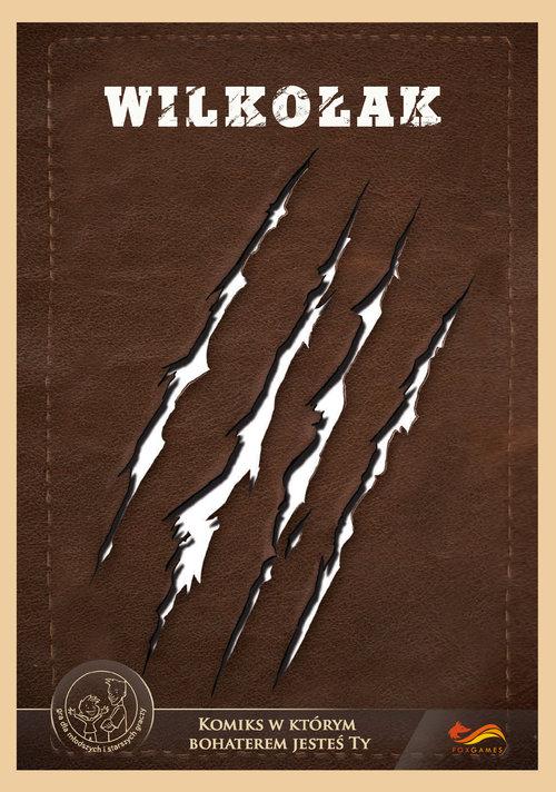 Wilkołak. Garou Loup Komiks, w którym bohaterem jesteś TY. komiks,gra paragrafowa cena 13,21 zł