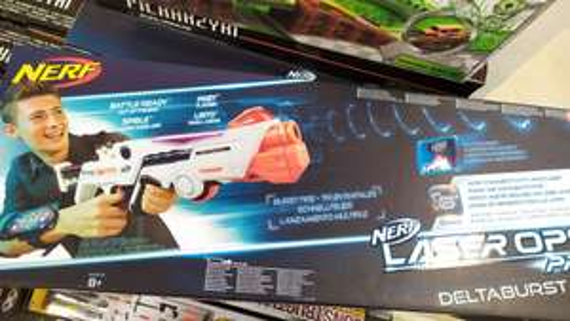 Nerf LaserOps pro przecena Pepco