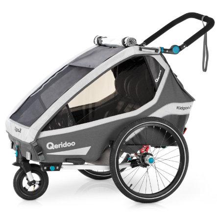 Przyczepka rowerowa Qeridoo Kidgoo2 za 2365zł @ Pink or Blue