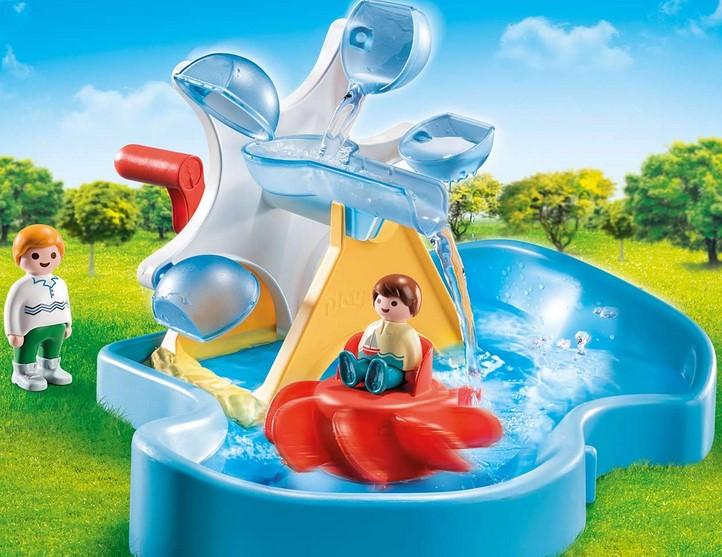 PLAYMOBIL 1.2.3 Aqua - Młyn Wodny z Karuzelą 70268 - najtaniej ! (Park Wodny 70267 za 188,54 zł). Świetna zabawka na nadchodzące ciepłe dni