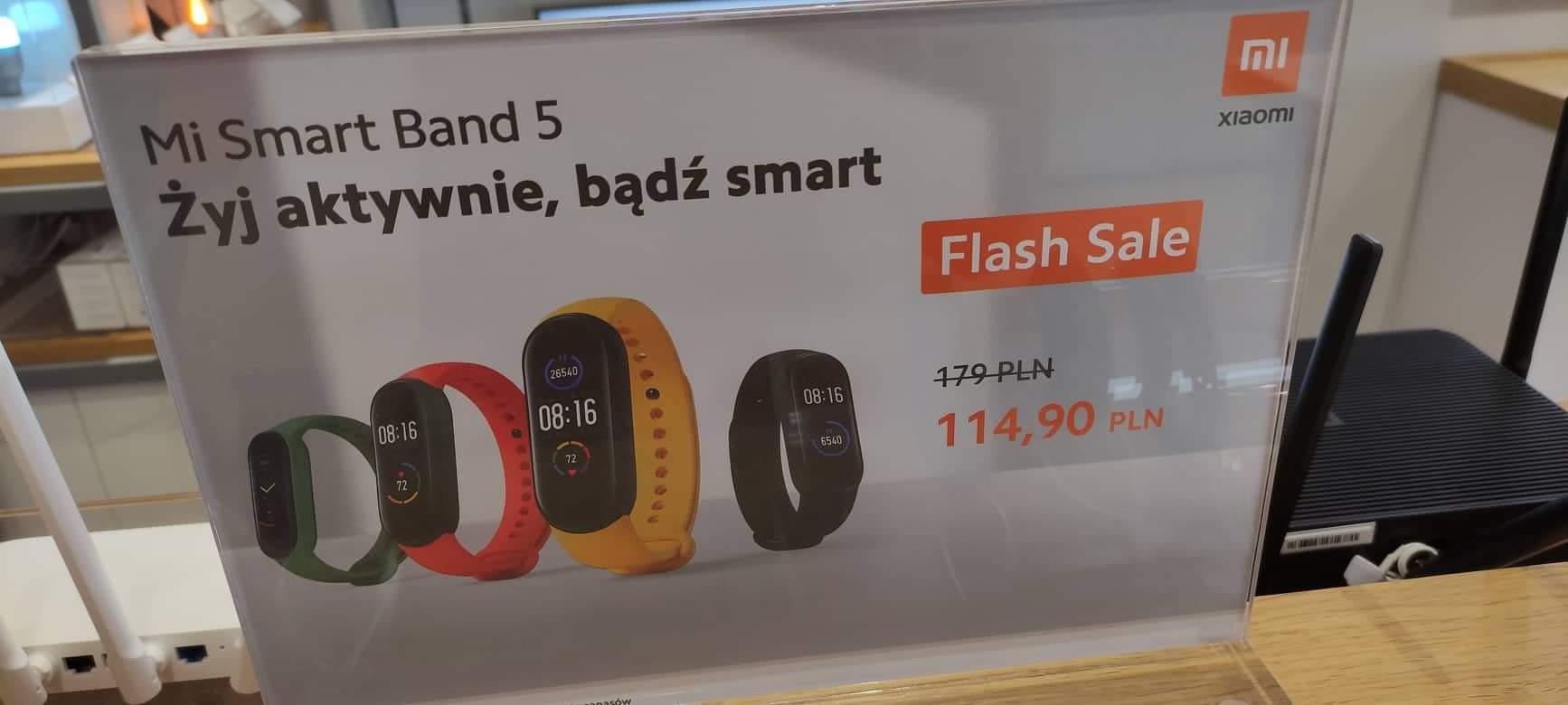 Smartband Xiaomi Mi Band 5 Mi Store Katowice