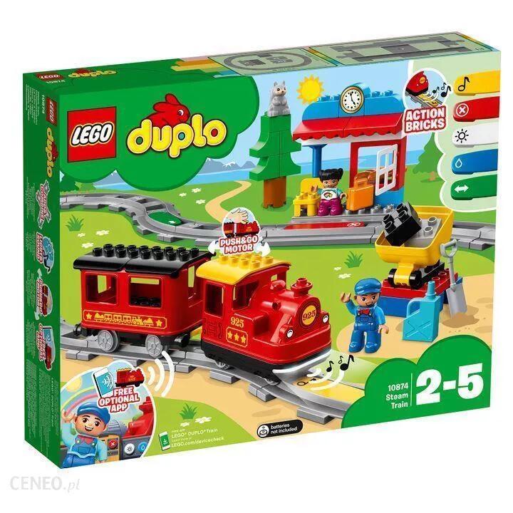 LEGO Duplo Pociąg parowy 10874 i inne zestawy w Selgros