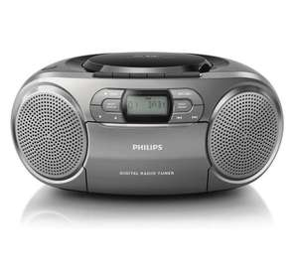Radiomagnetofon Philips AZB600/12 (kasety, CD, DAB+) @ OleOle