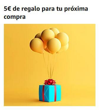 Amazon.es -5 EUR za zakupy za min. 25 EUR